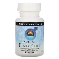 Source Naturals, шведская цветочная пыльца, 90 таблеток