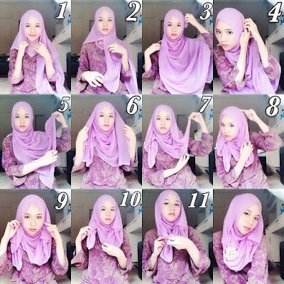 Cara Memakai Hijab Modern untuk Sehari-hari