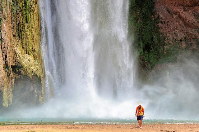 Havasupai waterfall