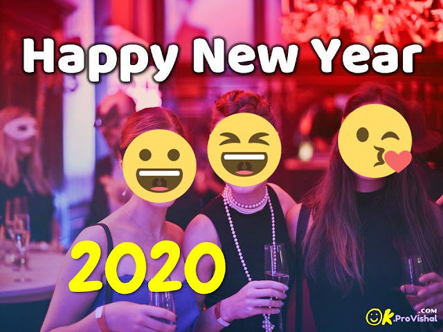 Funny pics for New Year 2020 celebration.