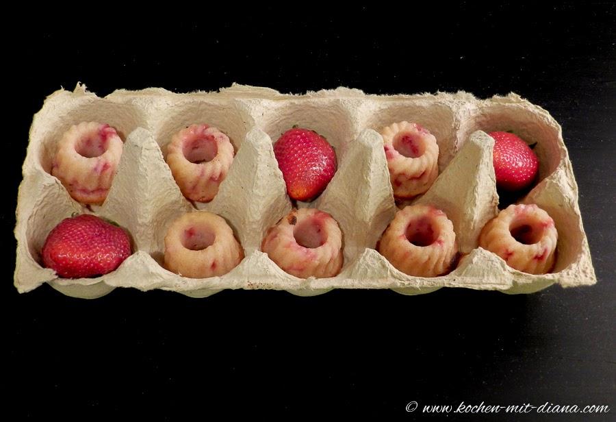 Amaretto-Erdbeere Minigugl