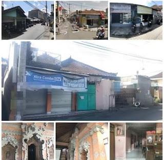 Dijual Lokasi strategis tengah Kota Denpasar Bali