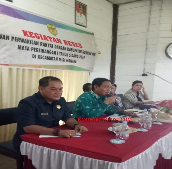 Reses di Dapil-III, Dewan Monitoring dan Berikan Program Kegiatan