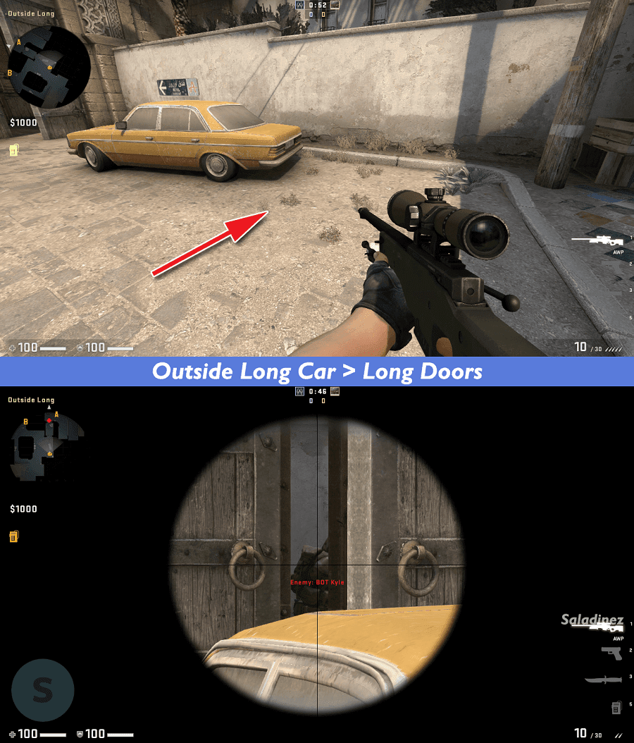 Outside Long Car > Long Doors