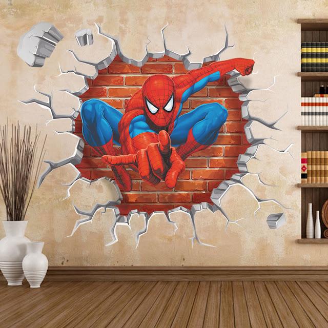 decorative 3d wall panels for unusual wall decor 2017 skylanders wall sticker mural wall art sticker children s