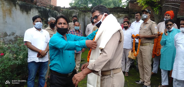 दीवान ब्रदी नाथ मौर्य की हुई विदाई, व्यापारियों ने की कार्यों की प्रशंसा | #NayaSaveraNetwork