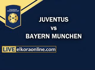 Live Streaming Juventus vs Bayern Munchen ICC 2018