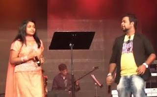 Jessica with Santosh – Yammadi Aathadi