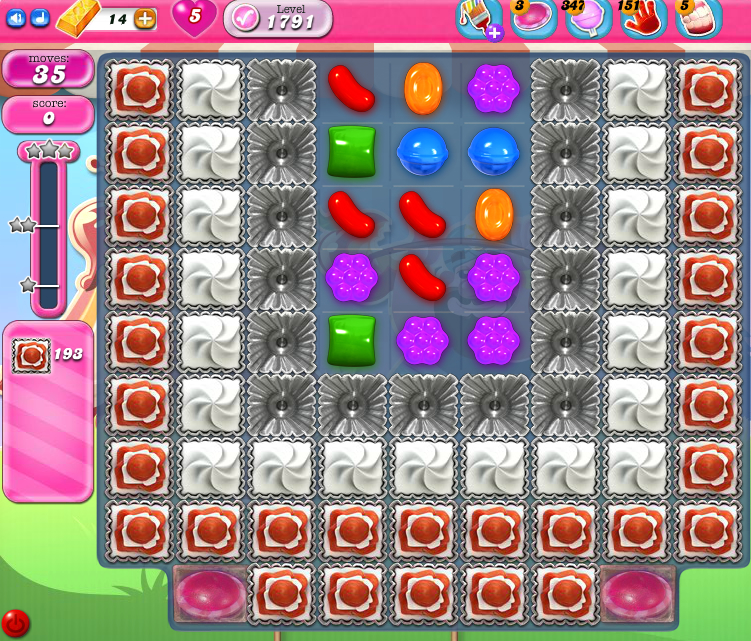 Candy Crush Saga 1791