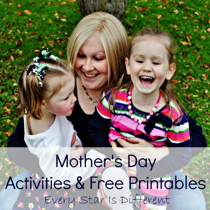 Mother's Day Activities & Free Printables
