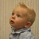 corte de cabelo para bebês meninos