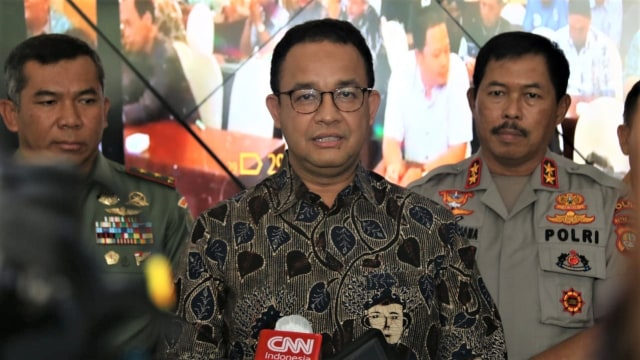 Anies Beri Subsidi 1,1 Juta Pekerja Harian di DKI Imbas Pembatasan Akibat Corona
