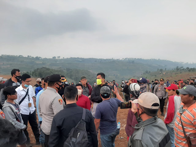 Ratusan Petani Penggarap HGU Nyaris Bentrok Dengan Perwakilan PT MPM