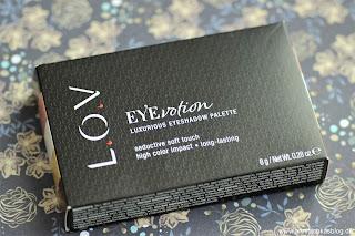 Review: L.O.V EYEvotion Lidschatten Palette Nr. 720 - www.annitschkasblog.de