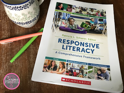 A look at a professional text to support the teaching of all things ELA.