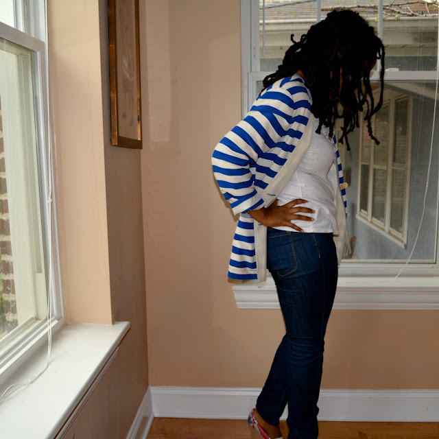 thrifted Talbots blazer