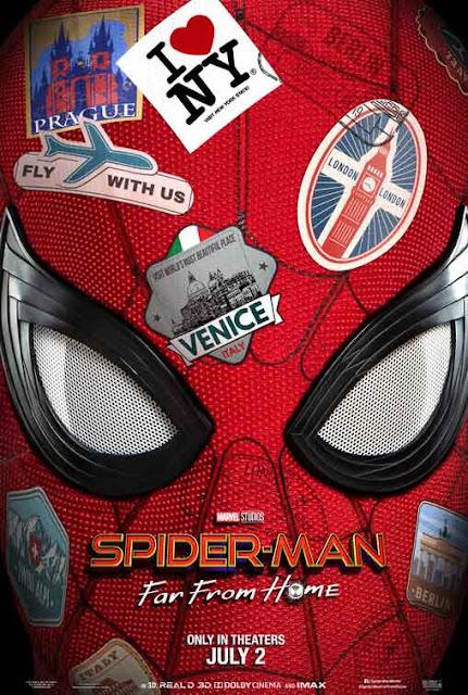 صراع البوكس أوفيس يحتدم.. أكثر 10 أفلام تحقيقا للإيرادات في سنة 2019 على صعيد شباك التذاكر العالمي فيلم Spider-Man Far from Home