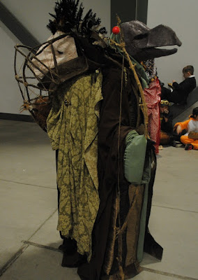 character/creature from 1982's Dark Crystal film. 2016 Ottawa Comiccon.