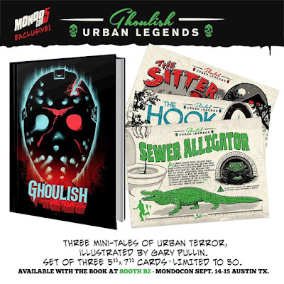 MondoCon 2019 Exclusive Ghoulish Urban Legends Mini Prints by Gary Pullin