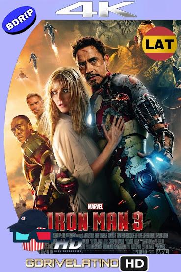 Iron Man 3 (2013) BDRip 4K HDR Latino-Ingles MKV
