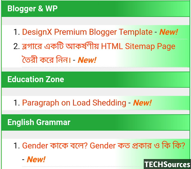 Create Blogger sitemap