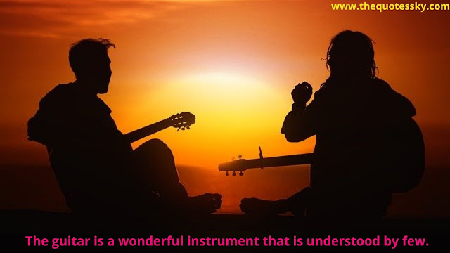 100+ Guitar Quotes & Captions For Instagram [ 2021 ]