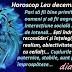 Horoscop Leu decembrie 2020