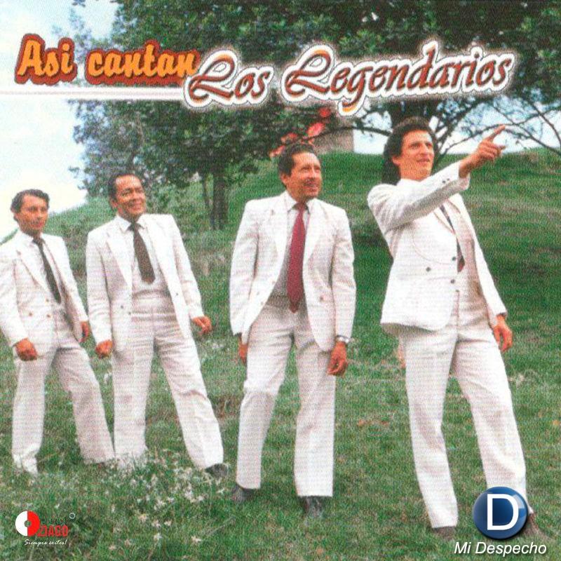 Los Legendarios Asi Cantan Los Legendarios Frontal