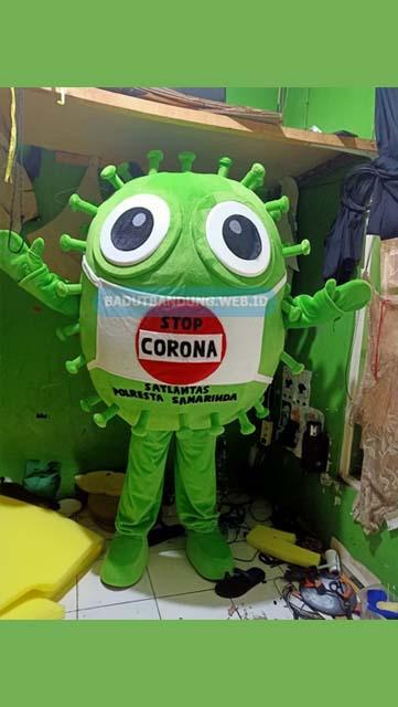 Badut Maskot Stop Corona