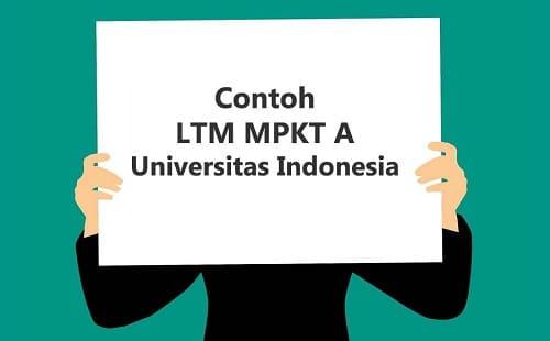 LTM MPKT A Universitas Indonesia