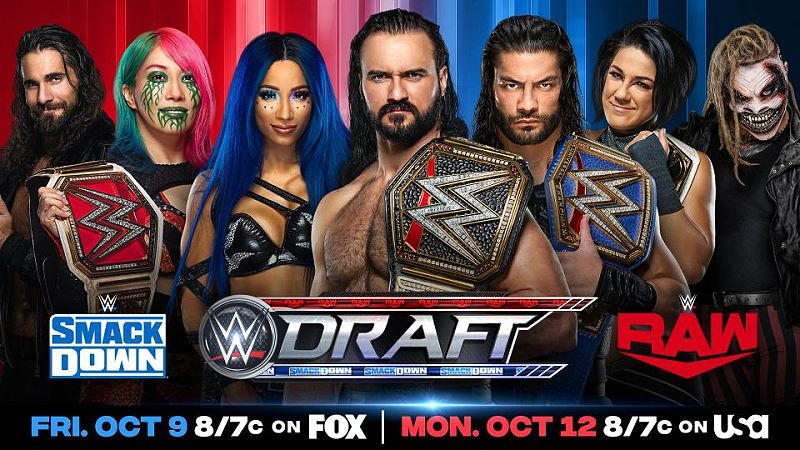 WWE Smackdown Results, Draft Edition - October 9, 2020