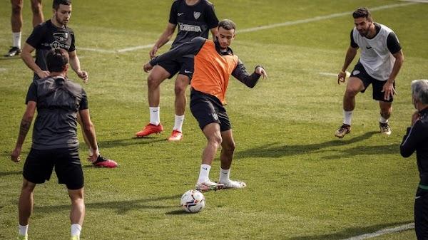 Málaga, Orlando Sá vuelve al entrenamiento