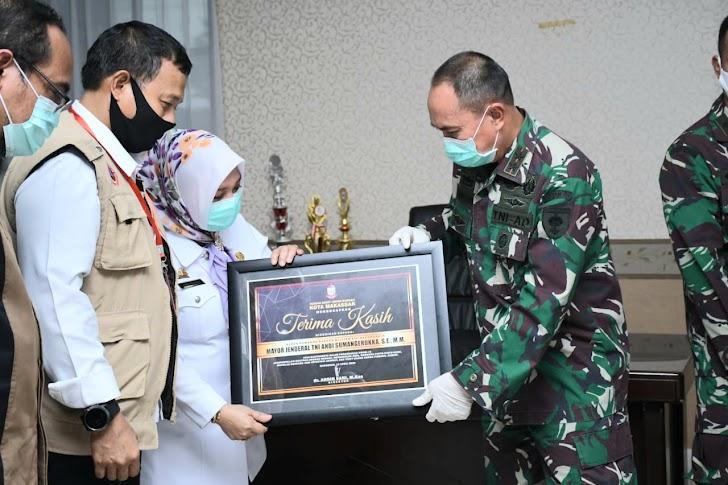Pangdam XIV/Hasanuddin Puji Kesiapan RSUD Daya Makassar Tangani Pasien Covid -19
