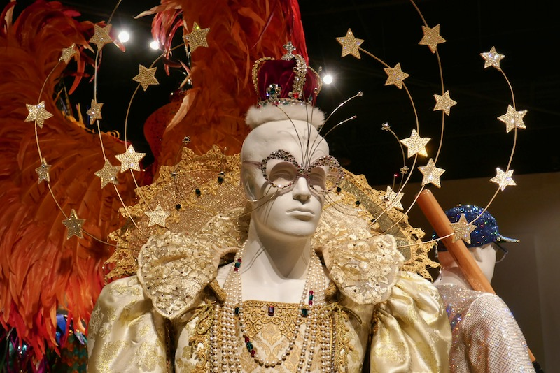 Elton John Rocketman Queen Elizabeth I costume detail