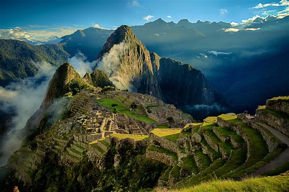 Machu Picchu en Cuzco en Peru