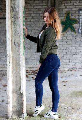 Moje nowe ulubione jeansy. ♥