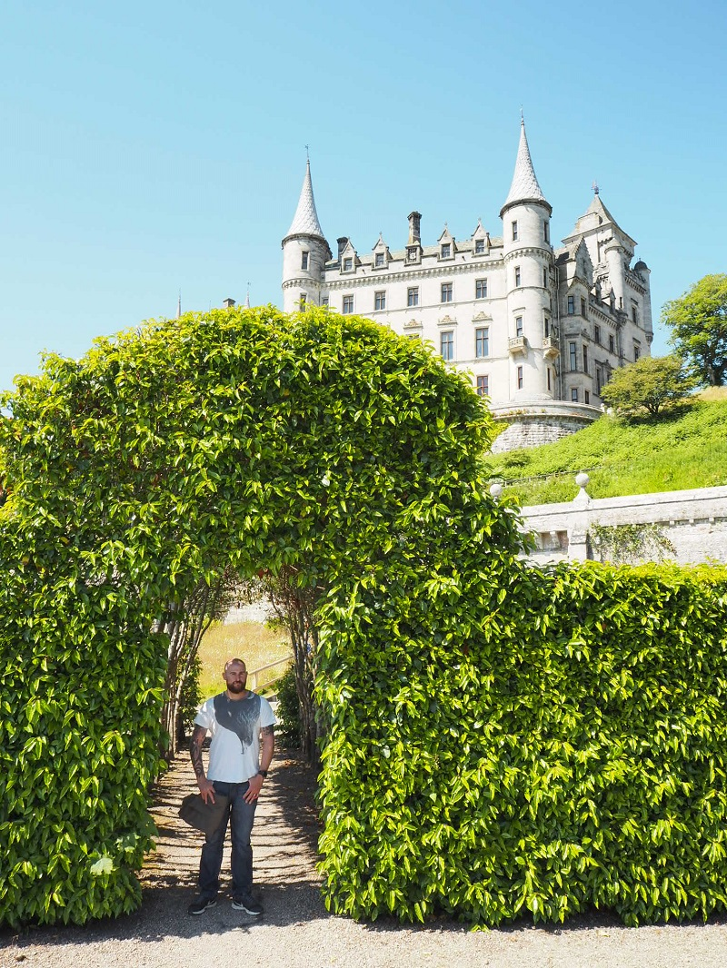Gordon at Dunrobin Castle NC500