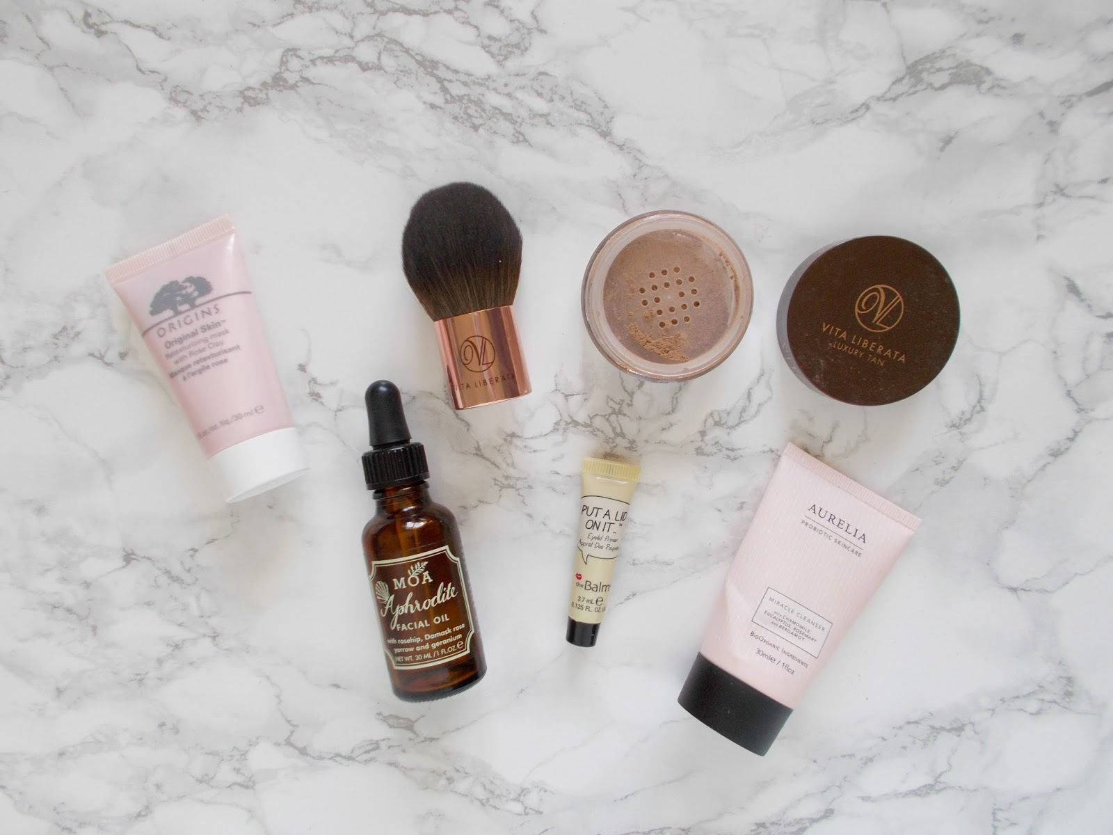 best beauty box finds latest in beauty cohorted origins moa aurelia the balm vita liberata
