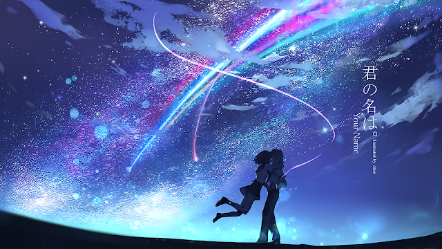 wallpaper kimi no na wa (your name)