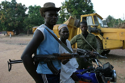 Central African Republic at war