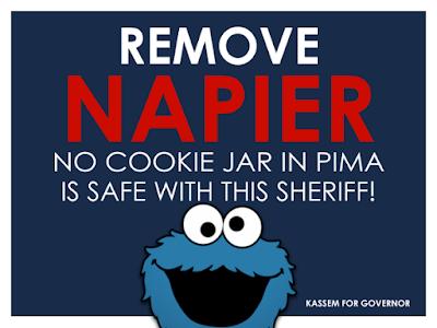 Pima County Sheriff Mark Napier