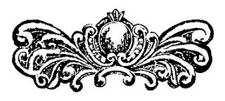 design digital clipart illustration flourish swirl decorative