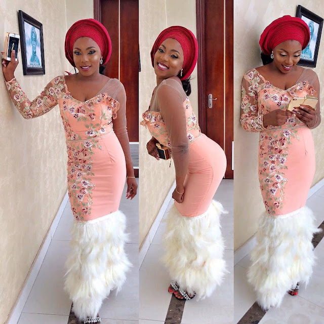 Creative and Beautiful Aso ebi Gowns for weddings