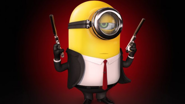 Latest minion Hitman HD Wallpaper Pictures