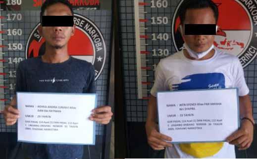 Terlibat Narkoba, Warga Kayo Aro Ditangkap Polres Kerinci