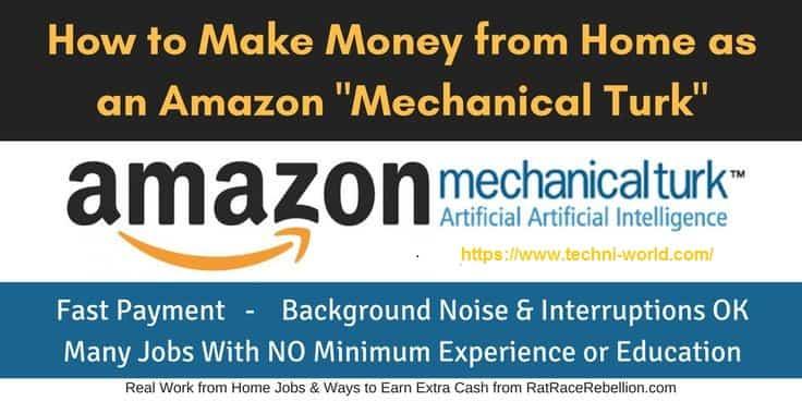 أفضل طريقة للربح مع Amazon Mechanical Turk