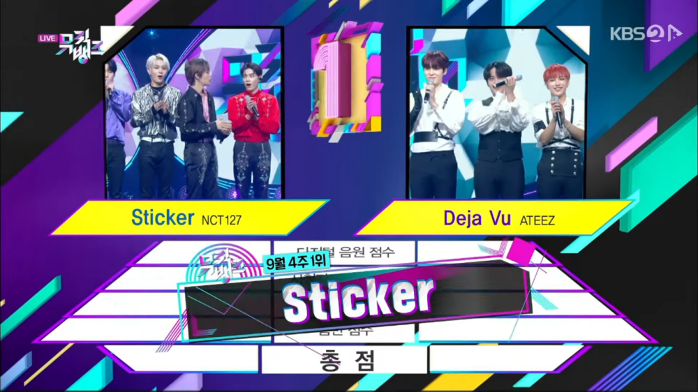 'Sticker' Received Its 2nd Trophy on 'Music Bank'. Congratulation NCT 127!