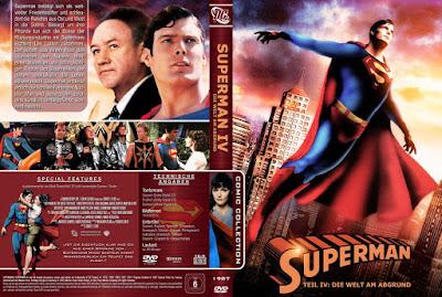 Carátula dvd / bluray: Superman IV: En busca de la paz