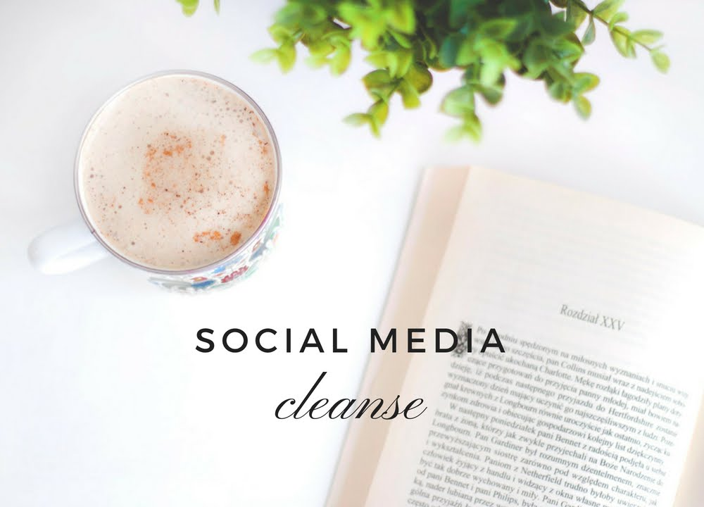A 2-Week Social Media Cleanse
