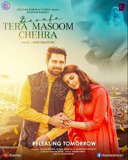 The Lyrics of TERA MASOOM CHEHRA by JUBIN NAUTIYAL I DjPunjabNew.CoM